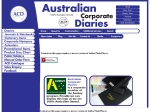 View More Information on Australian Corporate Diaries, Round corner