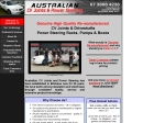 View More Information on Australian C.V. Joint & Power Steering