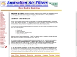View More Information on Australian Air Filters