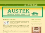 View More Information on AUSTEK Frames & Trusses Pty Ltd