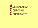 View More Information on Australasian Corrosion Consultants Pty Ltd