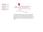 View More Information on Austeam Appliances
