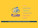 View More Information on A 4 Maths