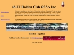 View More Information on 48-FJ Holden Club of S.A. Inc