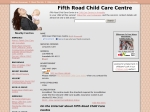 View More Information on 5th Road Child Care Centre