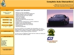 View More Information on A Complete Auto Dismantlers