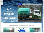 View More Information on A C Water Cartage