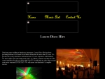 View More Information on A Lasers Disco Hire
