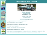 View More Information on Dependable Pest Control