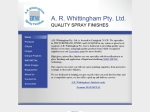 View More Information on A R Whittingham Pty Ltd