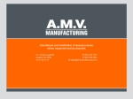 View More Information on A.M.V. Manufacturing Pty Ltd