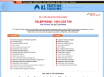 View More Information on A1 Testing & Tagging Pty Ltd, Victoria