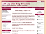 View More Information on Abbacy Wedding Printers