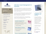 View More Information on Aberdeen Asset Management Ltd, Sydney