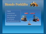 View More Information on Access Forklifts