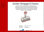 View More Information on Acclaim Mortgage & Finance