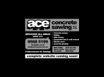 View More Information on Ace Concrete Sawing Pty Ltd