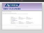 View More Information on Acres Dry Cleaners Pty Ltd, West beach