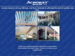 View More Information on Acrobat Opening Roof