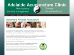 View More Information on Adelaide Acupuncture Clinic