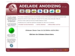 View More Information on Adelaide Anodizing Pty Ltd