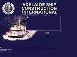 View More Information on Adelaide Ship Construction International Pty Ltd