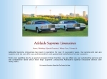 View More Information on Adelaide Supreme Limousines