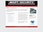 View More Information on Adept Security Pty Ltd, Nowra