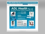 View More Information on Adl Health Pty Ltd