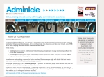 View More Information on Adminicle Business Services