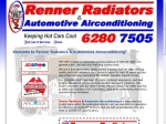 View More Information on Renner Radiators & Automotive Airconditioning