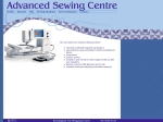 View More Information on Advanced Sewing and Patchwork Centre