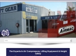 View More Information on Air & Lift Gear, Maroochydore