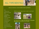 View More Information on All Type Rentals