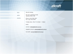 View More Information on Allcraft Printing (Aust) Pty Ltd