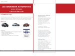 View More Information on Anderson Auto Spares