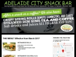 View More Information on Adelaide City Snack Bar