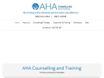 View More Information on AHA Counselling And Training