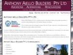 View More Information on Anthony Aiello Builders Pty Ltd