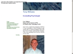 View More Information on Anthony Williams