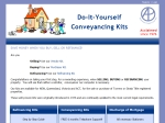 View More Information on DIY Conveyancing Kits