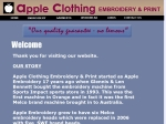 View More Information on Apple Clothing Embroidery & Print