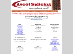 View More Information on Ascot Splicing & Supplies