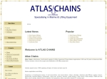 View More Information on Atlas Chains