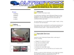 View More Information on Autostock Crash & Mechanical Repairs