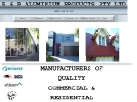 View More Information on B & B Aluminium Products Pty Ltd