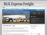 View More Information on B & K Express Freight Pty Ltd