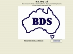 View More Information on B.D.S. - Pty Ltd