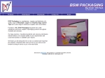 View More Information on B.S.W. Packaging, Sunshine north