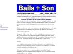 View More Information on Bails & Son Conveyancing